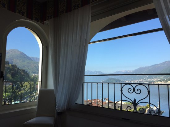 Hotel Bellagio: The outlook from room 404