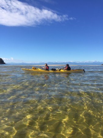Abel Tasman National Park, Nya Zeeland: great kayak
