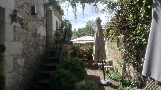 Saint Avertin, Prancis: Le jardin et La terrasse