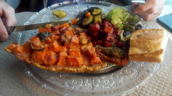 Saint Avertin, Prancis: La tarte aux légûmes