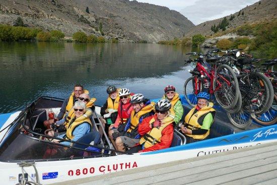 Alexandra, New Zealand: All aboard for Shingle Creek