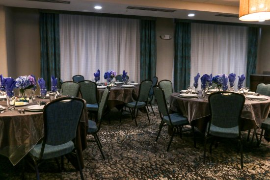 Centennial, CO: Foothills Room Set for Social Event