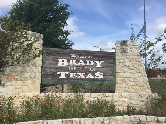 Brady, TX: Like the sign says. Watch out. Grass is frequented by puppies doing their business.