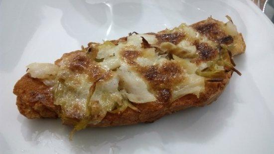 Almassora, Spagna: Tosta de bacalao, tentacion de quaresma