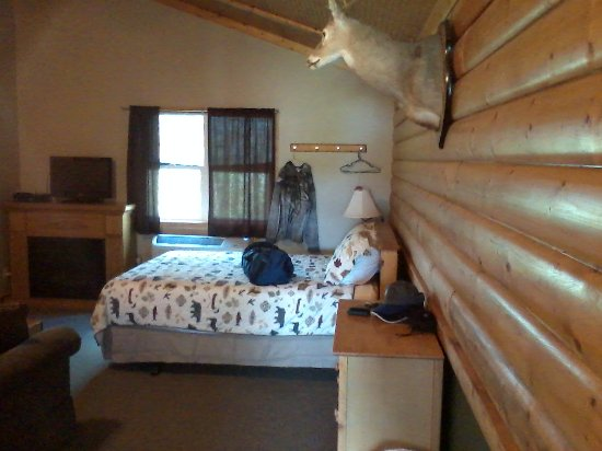 Shelbyville, IL: Inside of cabin