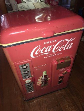 Виксбург, Миссисипи: Coca-Cola cooler