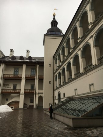 Palace of the Grand Dukes of Lithuania, National Museum: The courtyard