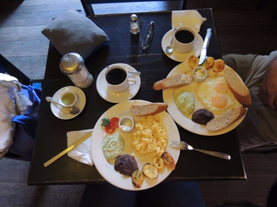 The Black Cat Hostel Xela: ¡Desayuno!