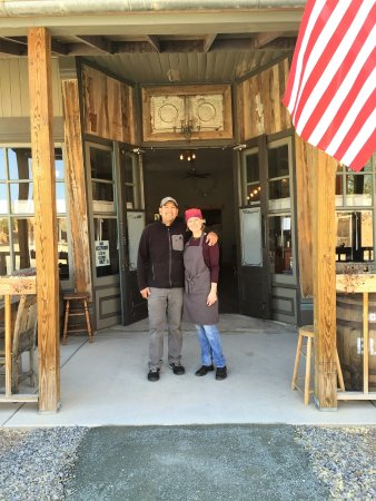 Cerrillos, NM: Kelly & Patrick Opening Day!