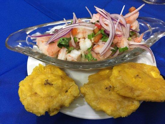 Villarreal, Costa Rica: soda y marisqueria marcela