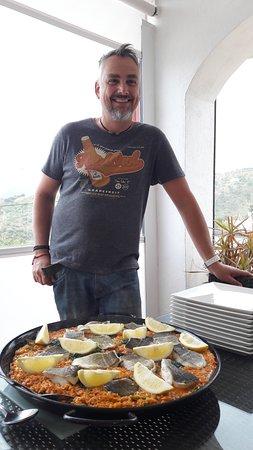 Comares, Spain: Paul's paella