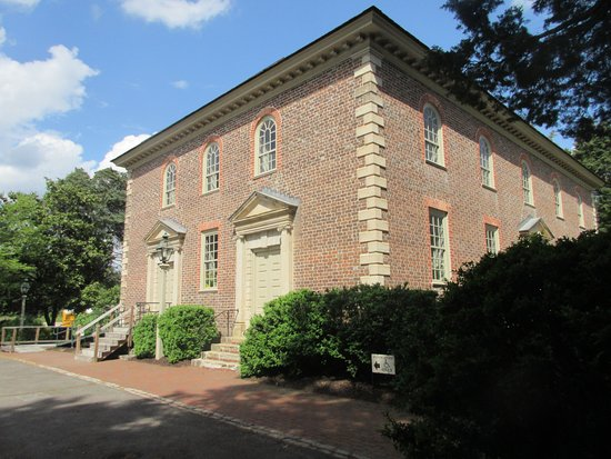 Mount Vernon, فيرجينيا: Church building from original design (late Georgia Style)