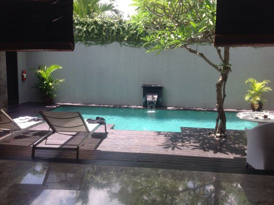 Peppers Seminyak: This is the view as you enter your Villa just gorgeous!!!!!!
