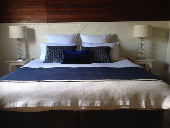 Rutherglen, Australien: The Indigo Suite - king-bedded. Can also be split into twin beds.