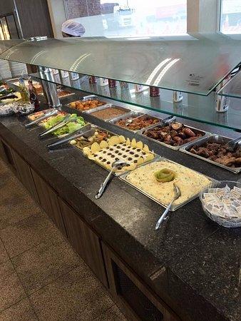 Jaguariaiva, PR: buffet 2