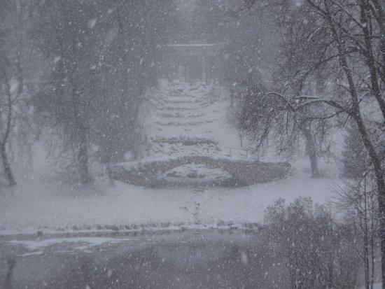 "Pawlowsk-Palast und Parkanlage: Pavlovsk Palace and Park - ""Roman Ruins"""
