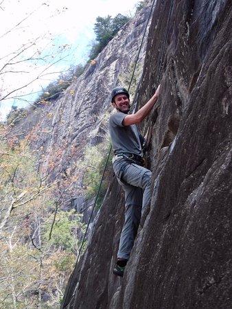 Fox Mountain Guides and Climbing School: Fun day climbing