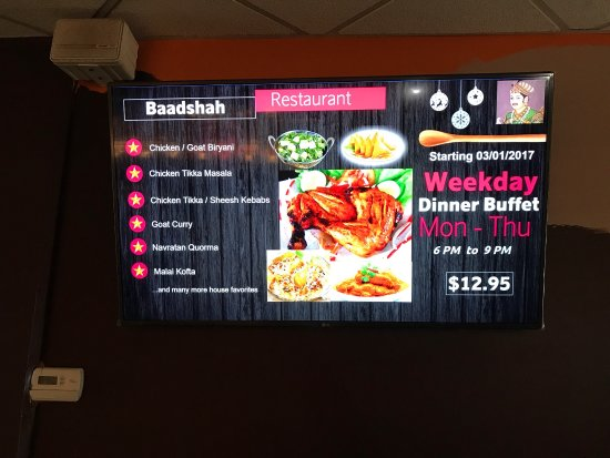 Parsippany, NJ: Baadshah Restaurant was the first Indian buffet I ever experienced and it was great.