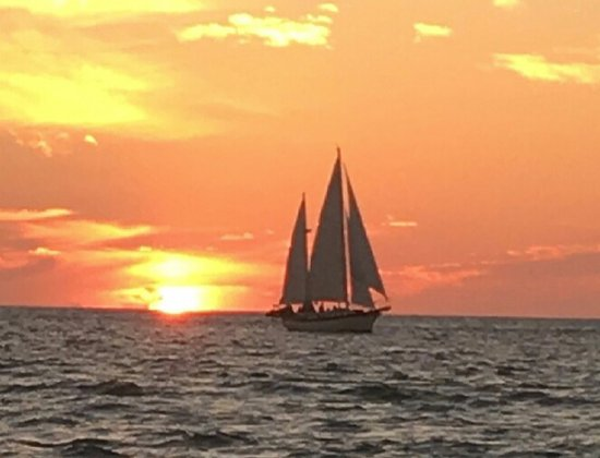 Perfect Sunset Sails Longboat Key!