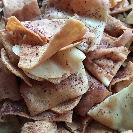 Holyoke, MA : Our addictive, made in-house pita chips