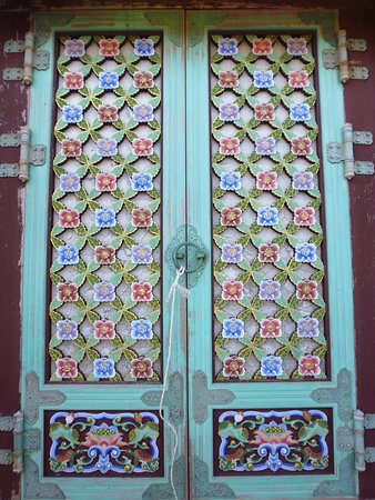 haedong yonggung temple decoracion