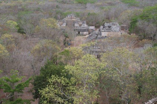 Temozón, México: Vista da Acrópole