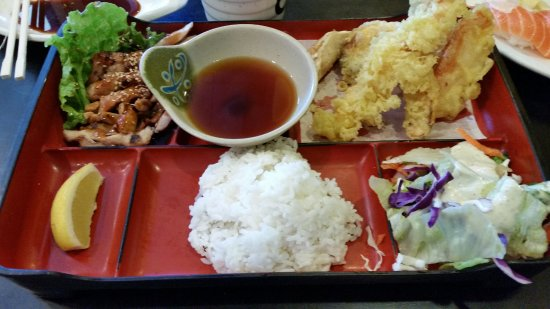 Tracy, CA: bento box