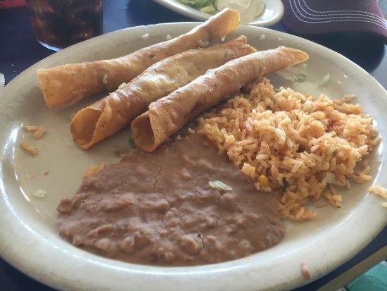 Original Mexican Cafe: Flautas