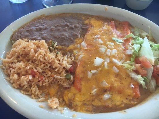 Original Mexican Cafe: Cheese enchiladas