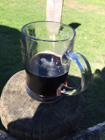 Puhoi, New Zealand: Black beer