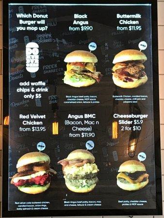 Leederville, Австралия: MOP donuts/ burgers