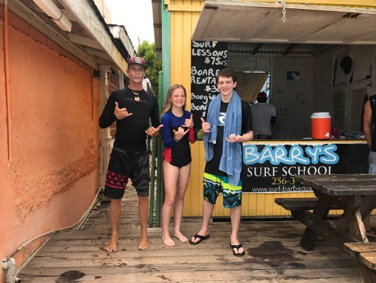 Barry's Surf Barbados Surf School : photo0.jpg