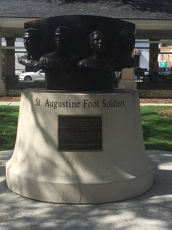 ‪St. Augustine Foot Soldiers Monument‬