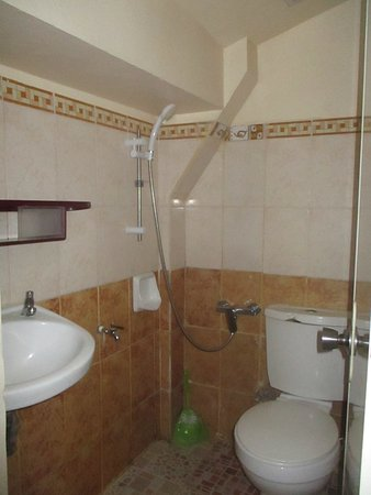 Calapan, Filippijnen: Comfort room (with hot and cold shower)