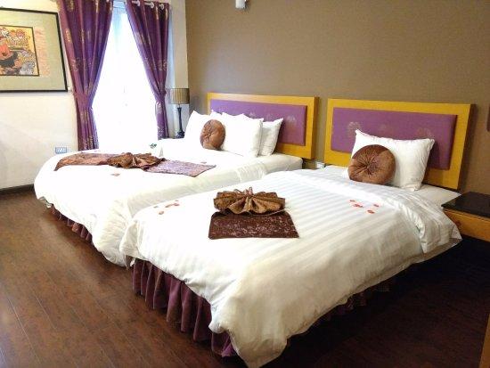 Golden Sun Villa Hotel, hoteles en Hanói