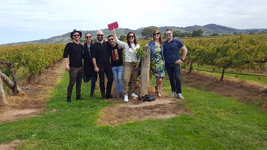 Mudgee, Australia: Burnbrae Wines in the vineyard