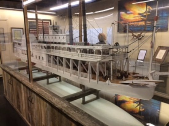 scale model sultana - Picture of Sultana Disaster Museum