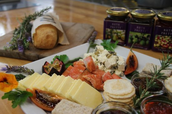 Zest Food Tours of New Zealand: Regional tasting platter at Moore Wilson