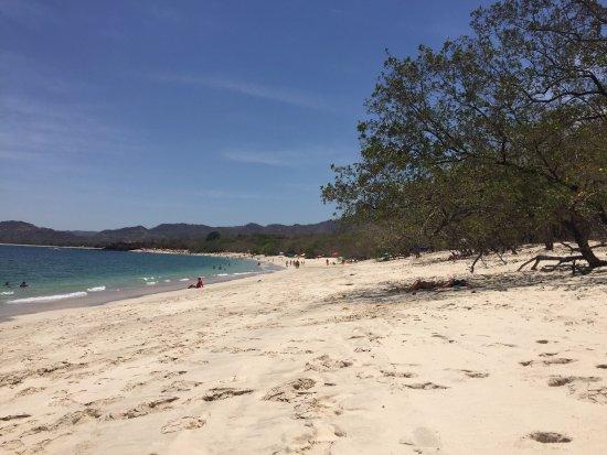 Playa Conchal: White Sand Beach!