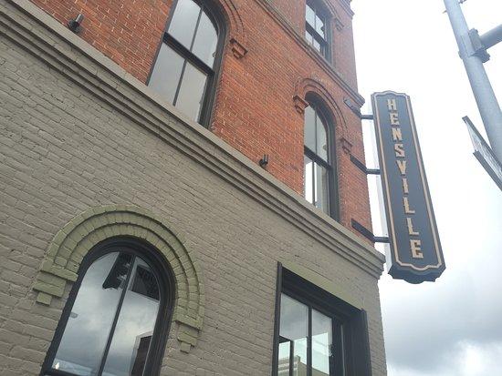 Toledo, OH: Hensville Sign