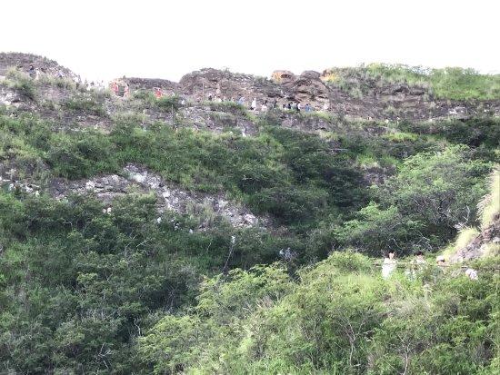 鑽石頭山照片