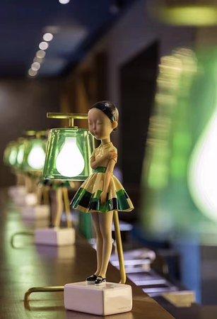 Zhengzhou, China: 酒店艺术品