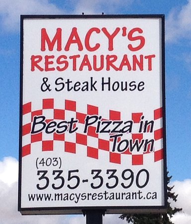 Didsbury, Canadá: Best Pizza in Town