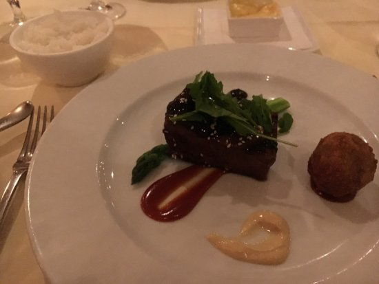Alan Wong's Restaurant: Main meal, delicious!