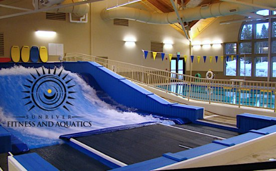 Sunriver, OR: Flowrider / Surfing machine