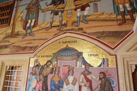 Pedoulas, Cyprus: фрески монастыря