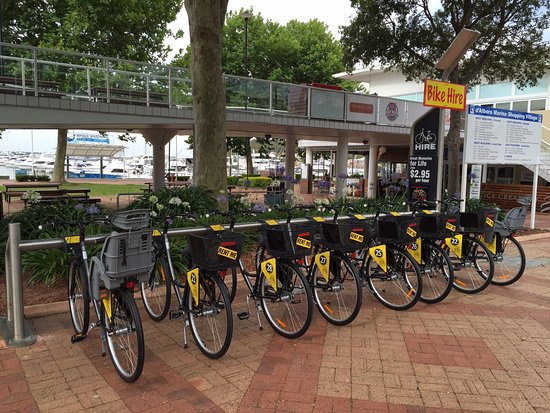 Nelson Bay, Austrália: Bike hire is fun