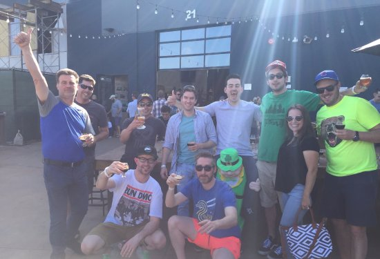 Brew Hop: Summer (Siobhan) and the Irish Contingent at Alesmith Brewing Co.