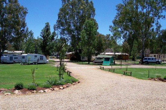 Narrandera, Austrália: Caravan sites