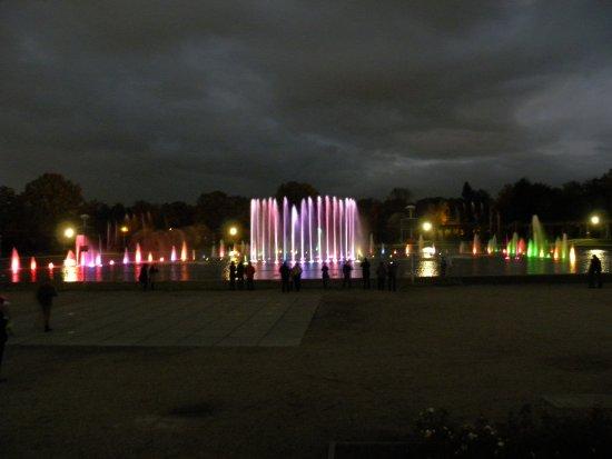 Multimedia Fountain at Pergola : najlepsze wrażenie po zmierzchu